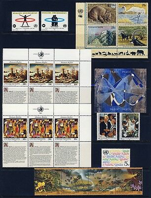 UN - New York . 1993 Year Set (618-636) - Mint Never Hinged