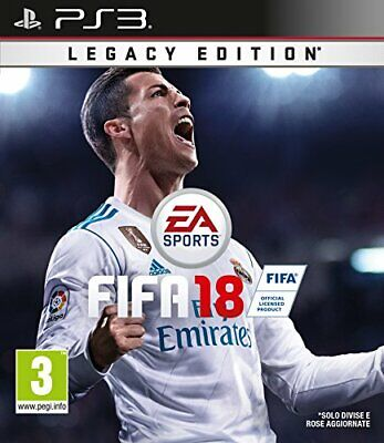 Fifa 18 Legacy edition (Fußball 2018) PS3 Playstation 3 Electronic arts