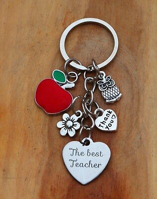 GIFT FOR  TEACHER - Teacher ,Teaching assistant nursery teacher Keyring ***(14)