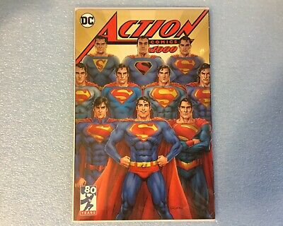 Dc Action Comics #1000 Nicola Scott Exclusive Variant Cover Limited Edition New
