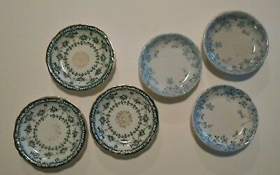 6 Antique Butter pats made into refrigerator magnets