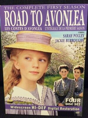 Road to Avonlea The Complete First Season 1 DVD 4-Disc Set VG Polley Burroughs