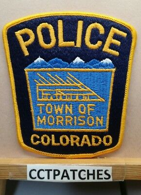 Town Of Morrison, Colorado Police Shoulder Patch Co