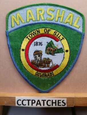 Town Of Silt, Colorado Marshal (Police) Shoulder Patch Co