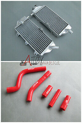 FOR Yamaha YZF250 YZ250F YZ 250 F 2010 2011 2012 2013 radiator and hose RED