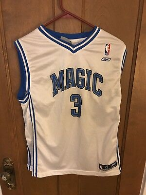 892bd7d556a Reebok NBA Orlando Magic Steve Francis White Jersey Size XL for youth