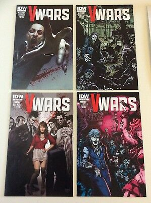 V-Wars #1 & 2 Regular Covers & Sub Variants Vampires Television Show Free S/h