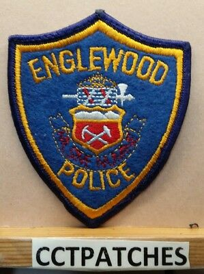 Englewood, Colorado Police Felt Shoulder Patch Co