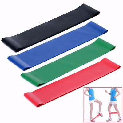 Elastic Band Resistance Latex Gym Rubber Fitness Yoga Equipment Workout Exercise