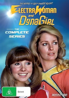 Electra Woman & Dyna Girl (DVD, 2016) - Region 4