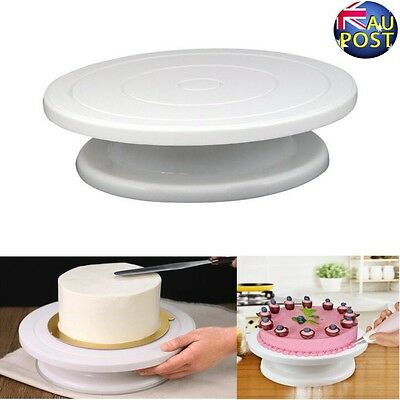 Kitchen Cake Training Decorating Icing Turntable 28Cm Rotating Display Stand