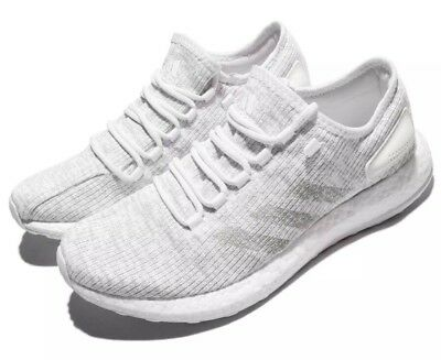 478afbfbe ADIDAS PureBOOST Men s Size 8 Running Shoes White S81991 Free S H! NEW