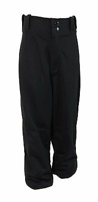 adidas Baseball Trousers Pants (Black) - Youth S (7-8 Years)