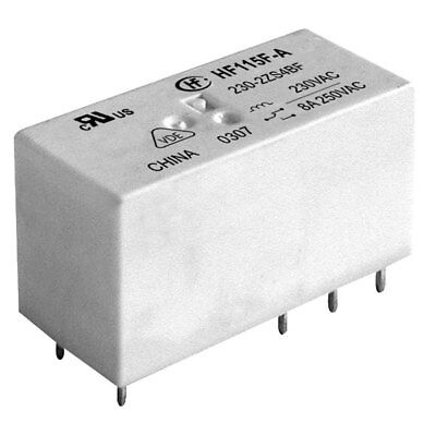 Hongfa HF115F0121ZS1AF 12VDC 12A SPDT Low Profile PC Power Relay