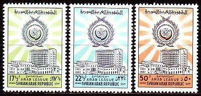 Syrien Syria 1962 ** Mi.783/85 Arabische Liga Arab League