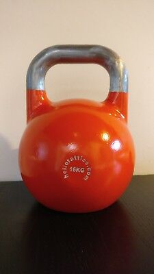 16kg competition/pro grade steel kettlebell