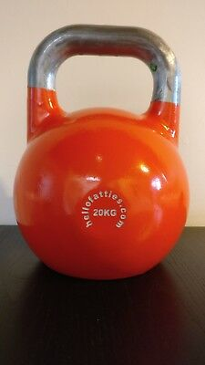 20kg competition/pro grade steel kettlebell