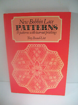 new bobbin lace patterns book 35 patterns with tear out prickings t zwaal lint