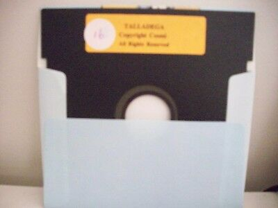 Talladega - Cosmi - Commodore 64 / 128 Vintage -  Game - Floppy Disc
