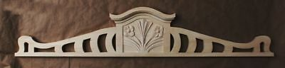 wooden  decoration / wooden crown /  furniture wooden applique