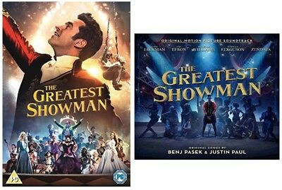 The Greatest Showman - Includes Greatest Showman DVD and CD