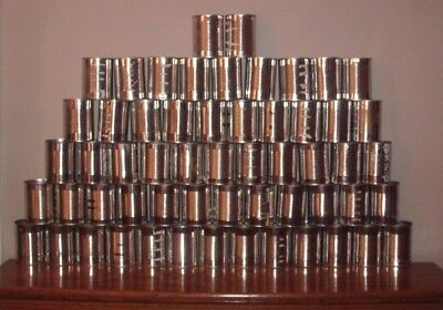 (Lot Of 57)  Empty 20 Oz. Tin Cans, Crafts, Nuts Bolts, School Projects, Etc