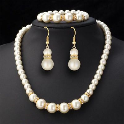 57e70adbe789 fashion crystal jewelry sets women girl gold silver color African bead  wedding b