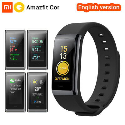 English Version Xiaomi Amazfit Cor MiDong Band 1.23 inch Color IPS Screen