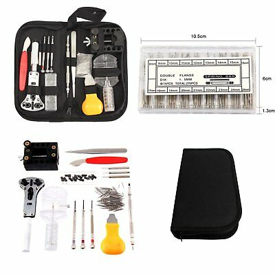 504 Pcs Watch Repair Tool Kit Watchmaker Back Case Battery Cover Remover Opener