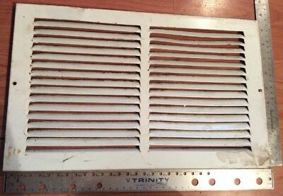 Metal Vent Cover Air Duct Plate 15.5 X 9.5 Inches See Photos Used Steel Grate