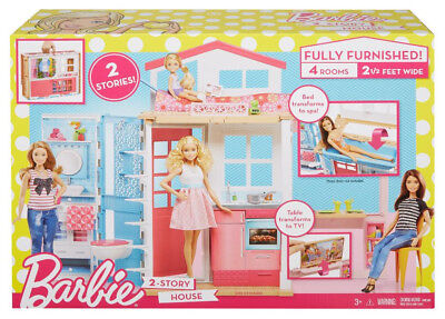 Barbie 2-Story House - Genuine Mattel From USA