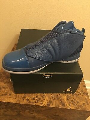 d38c8e78a9aaeb Air Jordan 16 XVI Retro Trophy Room RM FRENCH BLUE 854255 416 Nike Size 10