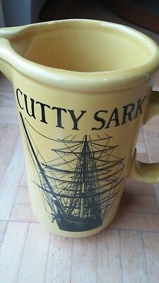 Cutty Sark Whiskey Large Ceramic Pitcher-Great Condition-Free Shipping