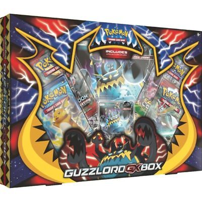 Pokemon: Guzzlord GX Collection Box: Inc 4 Booster Packs + Promo Cards New