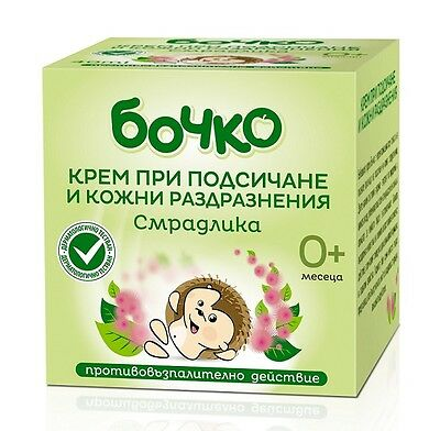 Baby Cream Bochko for Diaper Rash and Skin Irritations 50 ml
