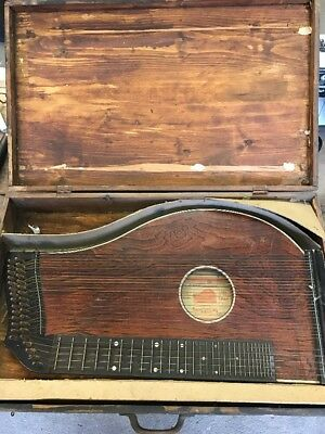 Zither Münchner Konzertzither Alt Antik