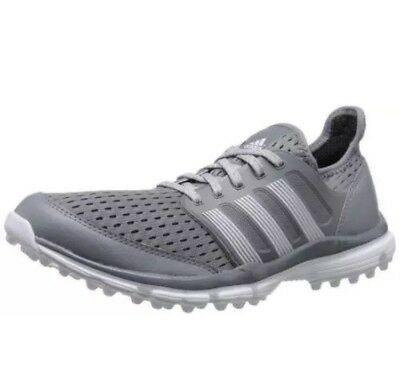 wholesale dealer 79cc9 8faf5 ADIDAS Climacool Golf Spikeless Shoes Light Gray Mens Sizes 9.5 NEW