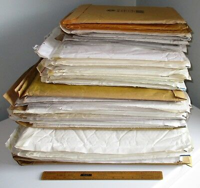 51 No. LARGE PADDED ENVELOPES – USED BUT UNMARKED - IDEAL FOR EBAYERS!!