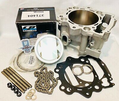 Wiseco Top End Piston Gaskets Rebuild Kit 101mm 1mm Yamaha Grizzly Rhino 660