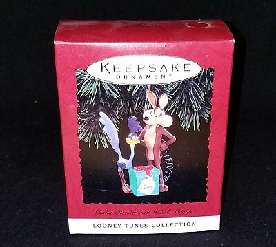 NEW Hallmark LOONEY TUNES 1994 WILE E COYOTE ROAD RUNNER TNT gift NEW IN BOX NIB