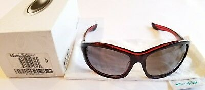 NIB Oakley Sunglasses Disobey Tortoise Red / Black Grey Gradient 05-323J A Fit