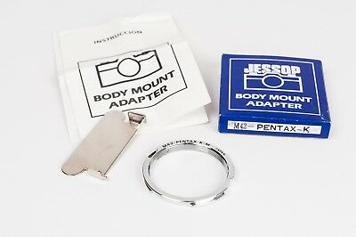 Jessop lens adapter for fitting M-42  to Pentax K