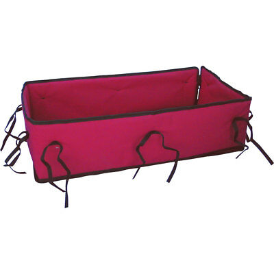 Cushioned Pad for Classic Red Convertible Wooden Wagon and Sleigh