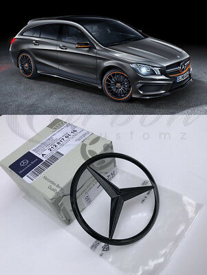 Mercedes-Benz CLA Shooting Brake Genuine GLOSS BLACK Rear Badge CLA45 AMG 14+