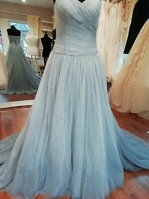 WEDDING DRESS LA Sposa/ Pronovias Esilda Size 14 New in Ombre ...