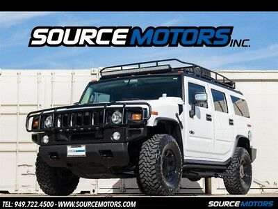 2008 Hummer H2 Luxury 2008 Hummer H2 Luxury SUV, Navigation, DVD, Blacked Out, Brush Guard, Roof Rack