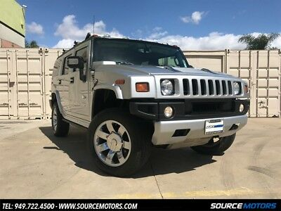 H2 SUV Luxury 2009 Hummer H2 Luxury, Silver Ice Metallic, DVD, Navigation, One Owner, Cali Car