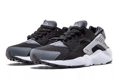 33bf25e54cd43  110 Nike Huarache Run (GS) Youth Size 4.5Y Running Shoes Black 654275-