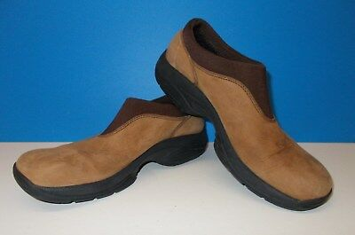Women's MERRILL Size 7M Mocha Leather Shoes Pre Owned