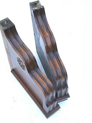 Vintage Wooden Corbels Entryway Stairwell Mantel Mantels Fireplace